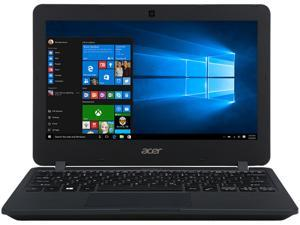 "Acer TravelMate B TMB117-M-C578-US Laptop Intel Celeron N3050 (1.60 GHz) 2 GB Memory 32 GB eMMC 11.6"" 1366 x 768  Intel HD Graphics Windows 10 Pro 64-Bit"