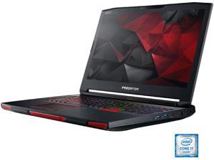 "Acer Predator 17 GX-791-73FH Gaming Laptop Intel Core i7 6th Gen 6820HK (2.70 GHz) 32 GB Memory 1 TB HDD 512 GB SSD NVIDIA GeForce GTX 980 8 GB GDDR5 17.3"" Windows 10 Home"