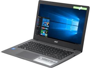"Acer Aspire One Cloudbook AO1-431-C8G8 Intel Celeron N3050 (1.60 GHz) 2 GB DDR3L Memory 32 GB Flash Memory Intel HD Graphics 14.0"" Windows 10 Home 64-Bit Manufacturer Refurbished Grade A"