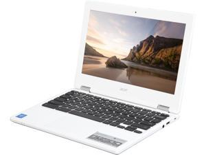 "Acer CB3-131-C3KD Chromebook Intel Celeron N2840 (2.16 GHz) 2 GB DDR3L Memory 16 GB Flash 11.6"" Chrome OS (Manufacturer Recertified)"