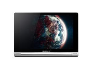 "Lenovo IdeaTab Yoga 10 16 GB Tablet - 10.1"" - In-plane Switching (IPS) Technology - Wireless LAN - Qualcomm Snapdragon 400 APQ8928 1.20 GHz - Silver"
