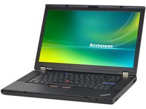 "Lenovo Laptop T510 Intel Core i5 2.40 GHz 4 GB Memory 750 GB HDD 15.6"" Windows 7 Professional 64-Bit"