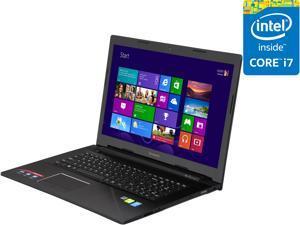"Lenovo Z70-80 80FG0037US 17.3"" LED Notebook - Intel Core i7 i7-5500U Dual-core (2 Core) 2.40 GHz - Silver, Black"