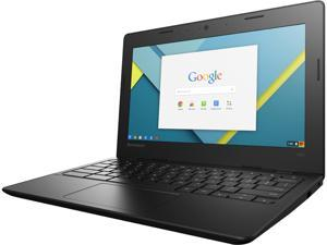 "Lenovo N21 (80MG0000US) Chromebook Intel Celeron N2840 (2.16 GHz) 2 GB Memory 16 GB SSD Intel HD Graphics 11.6"" HD 1366 x 768 Chrome OS"