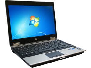 "HP B Grade Laptop EliteBook 2540P Intel Core i7 640LM (2.13 GHz) 4 GB Memory 64 GB SSD 12.1"" Windows 7 Home Premium"