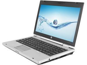 "HP Laptop EliteBook 2560P Intel Core i5 2520M (2.50 GHz) 4 GB Memory 250 GB HDD 12.5"" Windows 7 Home Premium 64-Bit"
