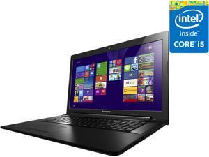 "Lenovo Z70-80 80FG0036US 17.3"" LED Notebook - Intel Core i5 i5-5200U Dual-core (2 Core) 2.20 GHz - Ebony Black"