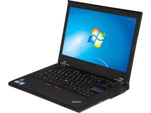 "ThinkPad Laptop T420 Intel Core i5 2nd Gen 2520M (2.50 GHz) 4 GB Memory 320 GB HDD Intel HD Graphics 3000 14.0"" Windows 7 Professional 64-Bit (Windows Activation Code can be found in the battery compa"