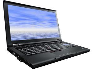 "Lenovo Laptop ThinkPad T410 Intel Core i5 520M (2.40 GHz) 4 GB Memory 320 GB HDD 14.1"" Windows 7 Professional"