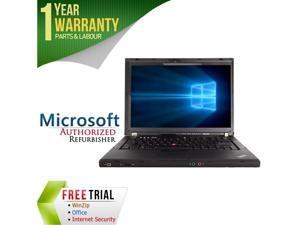 "Lenovo Laptop T400 Intel Core 2 Duo P8400 (2.26 GHz) 4 GB Memory 160 GB HDD 14.1"" Windows 7 Professional 64-Bit"