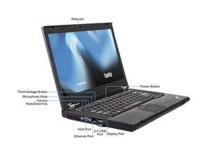 "Lenovo Laptop T420 Intel Core i5 2520M (2.50 GHz) 8 GB Memory 128 GB SSD 14.0"" Windows 7 Professional 64-Bit"