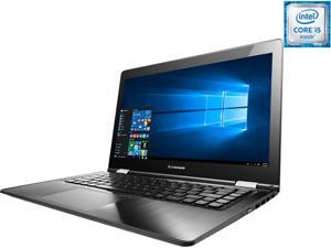 "Lenovo Flex 3 80R3000WUS Ultrabook Intel Core i5 6200U (2.30 GHz) 500 GB HDD 8 GB SSHD Intel HD Graphics 520 Shared memory 14"" Touchscreen Windows 10 Home"