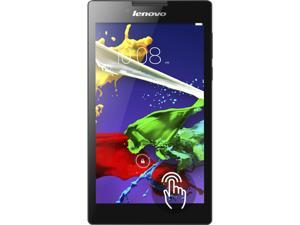 "Lenovo Tab 2 (A7-20 Bundle) Tablet MTK MT8127 (1.30 GHz) 1 GB DDR2 8 GB Flash Storage 7.0"" IPS 1024 x 600 Touchscreen 0.3 MP Front / 2.0 MP Rear Camera Android 4.4 (KitKat)"