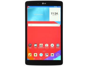 "LG 8.0"" LGV480.AUSAWH Qualcomm Snapdragon 1.20 GHz 1 GB Memory 16 GB Flash Storage Android 4.4 (KitKat)  Android 5.0 Lollipop Upgradable Tablet"