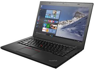 "ThinkPad Laptop T Series T460 (20FN003FUS) Intel Core i5 6300U (2.40 GHz) 8 GB Memory 192 GB SSD Intel HD Graphics 520 14.0"" Windows 7 Professional 64-Bit / Windows 10 Pro Downgrade"