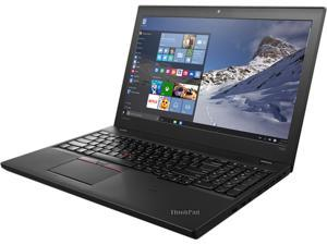 "ThinkPad Laptop T Series T560 (20FH001RUS) Intel Core i5 6300U (2.40 GHz) 8 GB Memory 256 GB SSD Intel HD Graphics 520 15.6"" Windows 7 Professional 64-Bit / Windows 10 Pro Downgrade"
