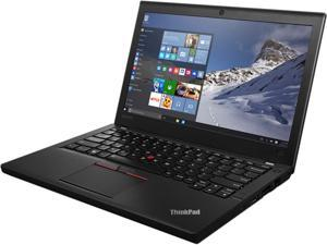 "Lenovo Laptop ThinkPad X260 (20F6006LUS) Intel Core i7 6600U (2.60 GHz) 16 GB Memory 256 GB SSD Intel HD Graphics 520 12.5"" Windows 7 Professional 64-Bit / Windows 10 Pro Downgrade"