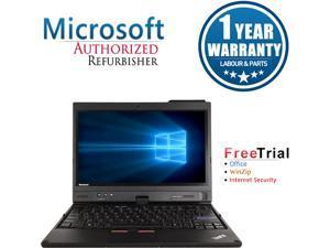 "Lenovo ThinkPad X220T Intel Core i7 4 GB Memory 120 GB 120 GB 12.5"" Tablet PC Windows 10 Pro"