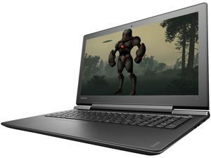"Lenovo IdeaPad 700 (80RU00FSUS) Gaming Laptop Intel Core i7 6700HQ (2.60 GHz) 16 GB DDR4 Memory 1 TB HDD 256 GB SSD NVIDIA GeForce GTX 950M 4 GB 15.6"" Windows 10 Home 64-Bit"