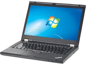 "Lenovo Laptop T Series T430 Intel Core i5 3320M (2.60 GHz) 4 GB Memory 320 GB HDD 14.0"" Windows 7 Professional 64-Bit"