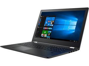 "Lenovo Flex 4 1580 (80VE000QUS) Ultrabook Intel Core i7 7500U (2.70 GHz) 256 GB SSD AMD Radeon R7 M460 2 GB GDDR3 15.6"" Touchscreen Windows 10 Home"