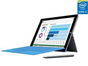 "Microsoft Surface Pro 3 Intel Core i3 CPU 4GB RAM 64GB Storage 12.0"" Tablet PC 4YM-00001"