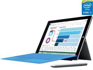 "Microsoft Surface Pro 3 Intel Core i7 CPU 8GB RAM 256GB Storage 12.0"" Tablet PC 5D2-00001"