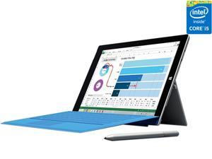 "Microsoft Surface Pro 3 Intel Core i5 CPU 4 GB RAM 128 GB Storage 12.0"" Tablet PC MQ2-00001"