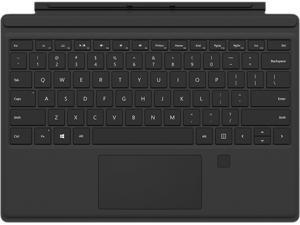 Microsoft RH7-00001 Surface Pro 4 Type Cover with Fingerprint ID - Black