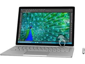 "Microsoft Surface Book SW5-00001 Ultrabook Intel Core i7 8 GB Memory 256 GB SSD NVIDIA GeForce Graphics 13.5"" 3000 x 2000  Touchscreen 5 MP Front / 8 MP Rear Camera Windows 10 Pro 64-Bit Bundle w/ Pen"