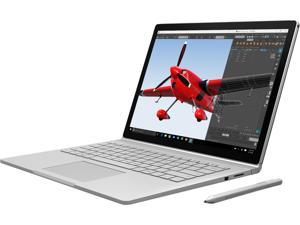 "Microsoft Surface Book CR9-00001 Intel Core i5 6300U (2.40 GHz) 8 GB Memory 128 GB SSD Intel HD Graphics 520 13.5"" Touchscreen 3000 x 2000 2-in-1 Laptop Windows 10 Pro 64-Bit"