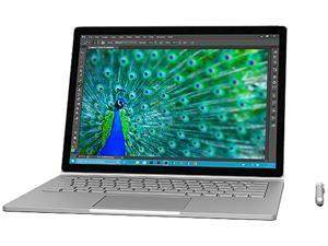 "Microsoft Surface Book SV9-00001 Intel Core i5 6300U (2.40 GHz) 8 GB Memory 256 GB SSD Intel HD Graphics 520 13.5"" Touchscreen 3000 x 2000 Detachable Ultrabook Windows 10 Pro 64-Bit"