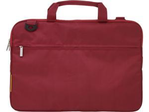 FileMate Dark Red ECO 14-in G230 Laptop Carrying Bag Model 3FMNG230RD14-R