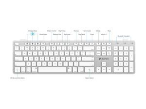 Kanex Multisync Bluetooth Keyboard QWERTYX-V2