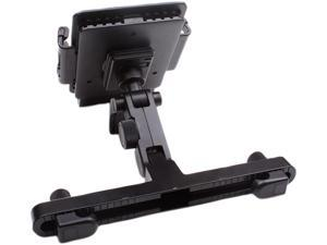 USA GEAR TabGRAB Tablet Headrest Car Mount Holder with Secure Adjustable Grip, Rotating Neck & Easy Installation - Works with Apple iPad Pro (9.7), Samsung Galaxy Tab S2, Google Nexus 9 & More!