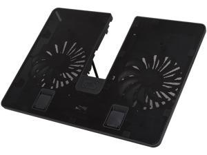 "DEEPCOOL U PAL Laptop Cooling Pad 15.6"" U Shape design Two 140mm Fans Multi Viewing Angles Adjustable USB 3.0 Pass-through"