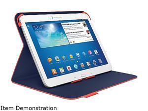 Logitech Red Orange Folio for 10.1-Inch Samsung Galaxy Tab 3 Model 939-000732