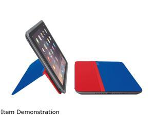 Logitech Blue/Red AnyAngle Protective case with any-angle stand for iPad mini Model 939-001159