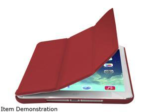 Cirago Red Slim-fit PU Cover Case for iPad Air Model IPCP5PA1RED