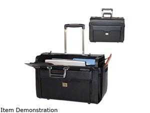 Bond Street Black Computer/Catalog Case on Wheels Model 546110BLK