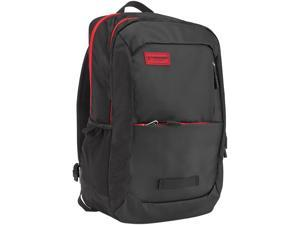 Timbuk2Parkside Laptop Backpack Black/Crimson - Nylon Model 384-3-2094 Up to 15 Inches --- OS