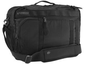 Timbuk2 Ace Laptop Backpack Messenger Bag Black - Nylon 354-4-2001 up to 15 inches - M