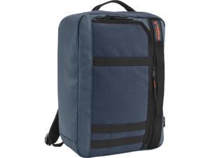 Timbuk2 Ace Laptop Backpack Messenger Bag 354-4-4160 Blue Voodoo - Polyester Canvas M size