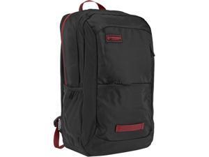 "Timbuk2 Parkside Laptop Backpack Black/Red Devil - Polyester fits up to a 15"" MacBook (384-3-1043)"