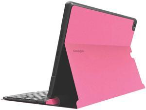 Kensington KeyFolio Exact Thin Folio with Removable Bluetooth Keyboard and Google Drive Offer for iPad Air (Pink) Model K97091US