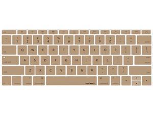 macally Gold MacBook Keyboard Cover Model KBGuardMBGD