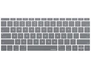 macally Gray MacBook Keyboard Cover Model KBGuardMBGY
