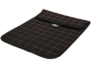 "Mobile Edge Neogrid Carrying Case (Sleeve) for 10"" iPad, Tablet PC - Black, Pink"