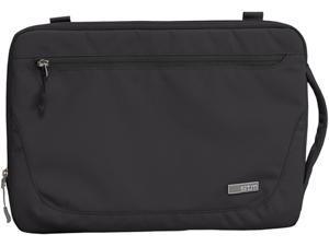 """STM Black/Clear Blazer Laptop Sleeve, fits most 13"""" Screens Model STM-114-029M-01"""