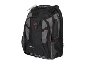 "SwissGear Black/Gray 15.4"" Computer Backpack Model The Mythos(GA-7321-14F00)"